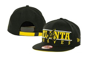Atlanta Braves MLB Snapback Hat SD2